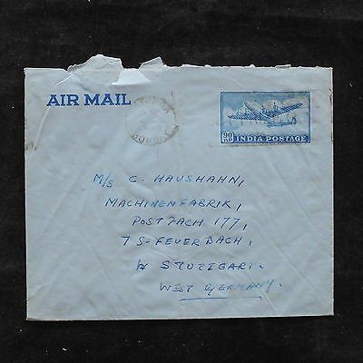 ZS-U503 AVIATION - India Ind, Airplanes, Bombay, Airmail To Germany Cover