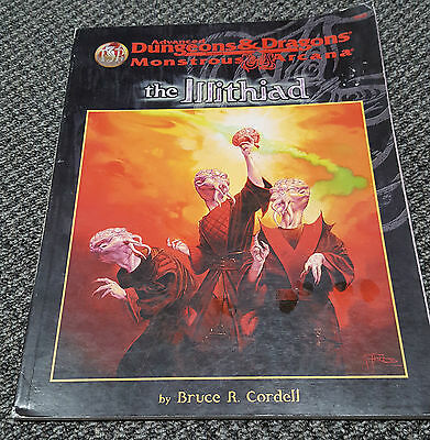 The Illithiad Monstrous Arcana - Advanced Dungeons & Dragons - TSR 9369