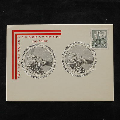 ZS-V144 AUSTRIA - Buildings, 1966 Airmail, Great Franking Cover