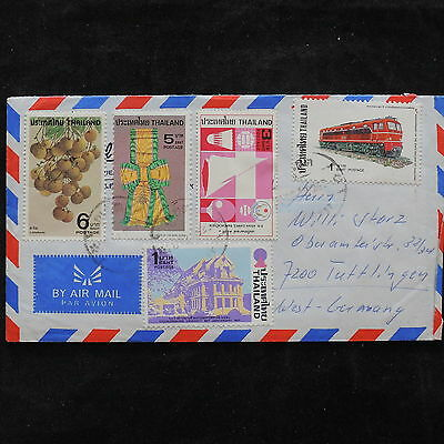ZS-V172 THAILAND - Cover, Trains, Monuments, Fruits