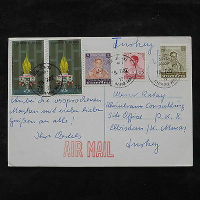 ZS-V174 THAILAND - Postcard, Airmail To Turkey