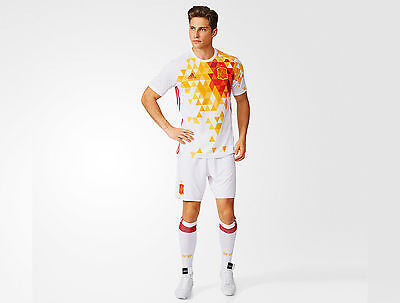 Spain away junior football kit including scoks