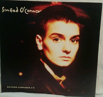 "Sinead oconner 12 "" single Nothing Compares 2 U vinyl. Very good condition"