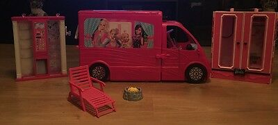 Barbie Glam Campervan & Barbie Fashion Vending Machine