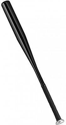 PLUSINNO 28 Inch Baseball Bat With Baseball(Black)