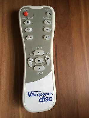 BRAND NEW vibrapower disc remote control