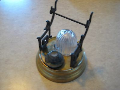 Nice Orig 1861 Patent Civil War Beehive Barometer Ink stand Ink well  inkwell