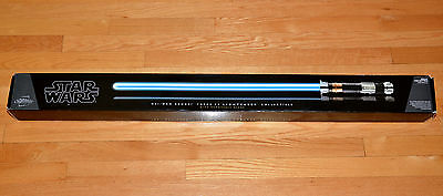 Rare Hasbro Removable Blade Star Wars Obi Wan Kenobi FX Lightsaber Used