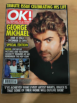 The Great George Michael OK Magazine 2017 Collectors Edition Mint
