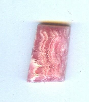 #6-2 All Natural Free Form Rhodocrosite Cabochon For Pendant or Ring- Argentina