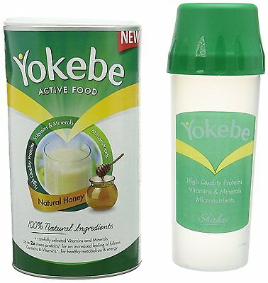 Yokebe Natural Honey Weight Loss Shake Plus Shaker -10 Portions one day delivery