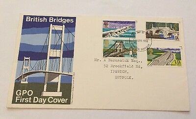 1968 British Bridges Gpo First Day Cover