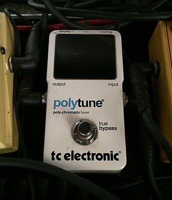 TC Electronic Polytune Guitar Pedal Tuner