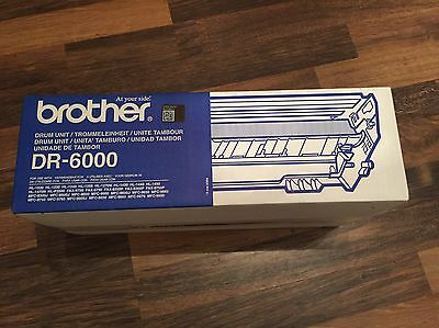 Black Genuine Original Brother DR-6000 Drum Unit New And Sealed