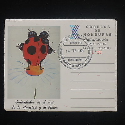 ZS-Y191 HONDURAS - Fdc, 1994, Cartoons, Airmail, Great Franking Cover