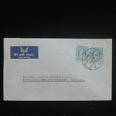 ZS-Y253 JORDAN - Cover, 1983, Airmail To Germany