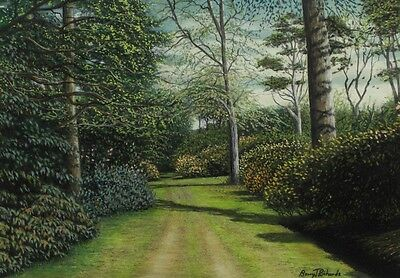 Barry J. Richards - Through the Rhododendrons, 2003 Pastel