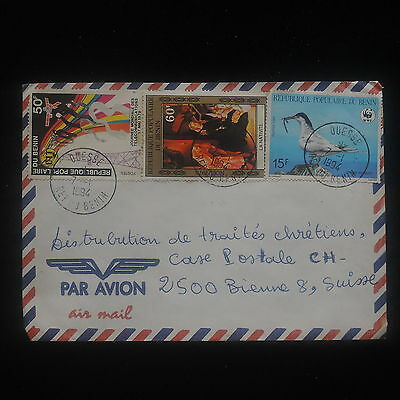 ZS-Y959 BENIN - Cover, 1994, Airmail To Switzerland