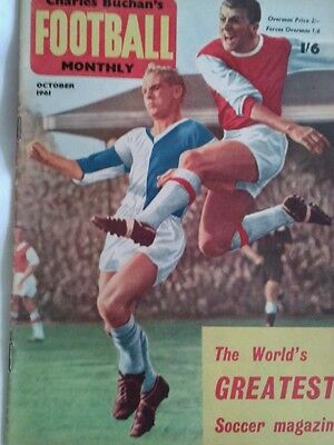 Charlie Buchans Football Monthly Oct 1961