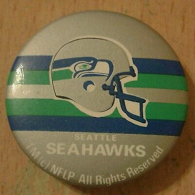 Seattle Seahawks Button Badge