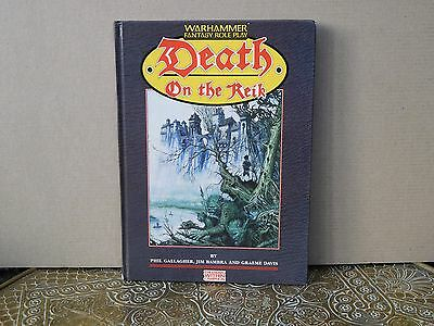 Death on the Reik Warhammer Fantasy The Enemy Within Campaign book