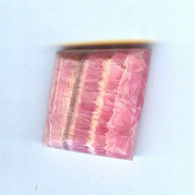 #6-10 All Natural Free Form Rhodocrosite Cabochon For Pendant or Ring- Argentina