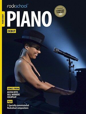 Rockschool Piano - Debut - Exam Sheet Music Book/DLC Coldplay Alicia Keys