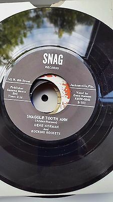 Gene Norman   Snag Repro  Label   45  Snaggle Tooth Ann       Bopper