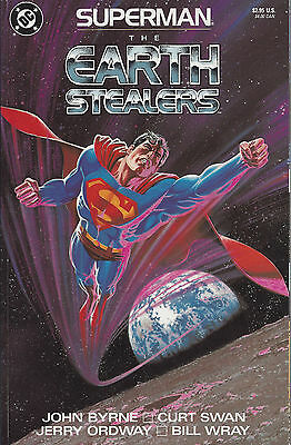 Superman The Earth Stealers #1  1988