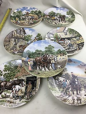 Vintage Large Lot Bundle Of Wedgwood Collectors Collection Of Plates