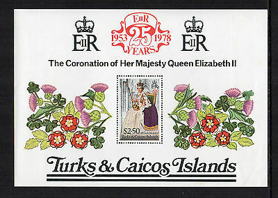Turks & Caicos - 25th Anniversary of Coronation of Queen Elizabeth II (1978) MNH
