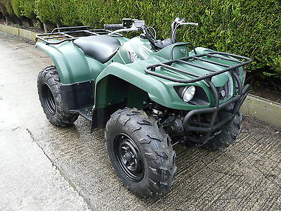Yamaha Grizzly 350 2x4  4x4 farm/equestrian quad ATV -AgrI Registered-2013