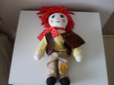 Canal Boat  Jim 15 Inch Rag Doll ( The Hand N Puppet Company)