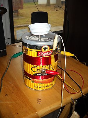 Home Made Bread Crumb Container Crystal Radio In Working Order From Junk