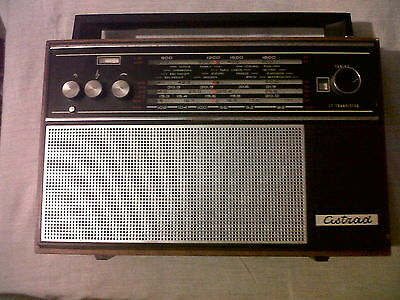 Vintage Russia Ussr Radio Lw/mw/ Fw And Sw 1- 5 Bands