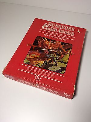 Dungeons and Dragons box set 1 : basic rules