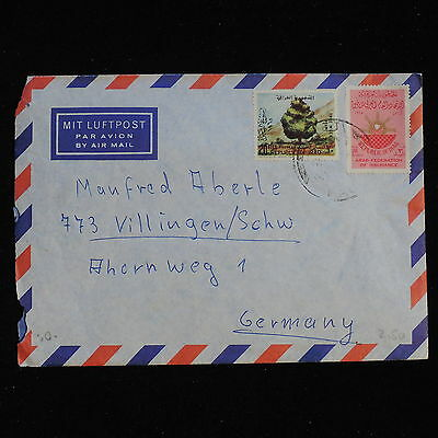 ZS-AC396 IRAQ - Airmail, To Villingen Germany Cover
