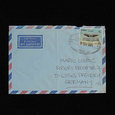ZS-AC413 KUWAIT IND - Aviation, 1984 Airmail To Dreieich Germany Cover