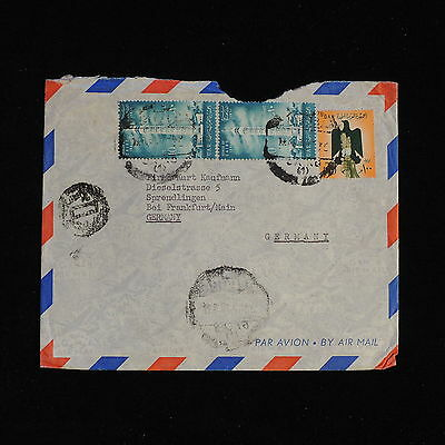 ZS-AC456 UAR - Airmail, To Frankfurt Germany Cover
