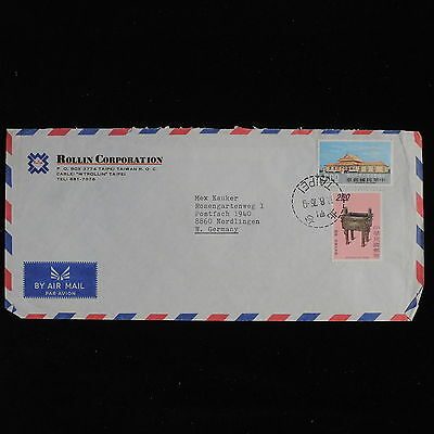 ZS-AC564 TAIWAN - Airmail, 1976 From Taipei To Nordlingen Germany Cover