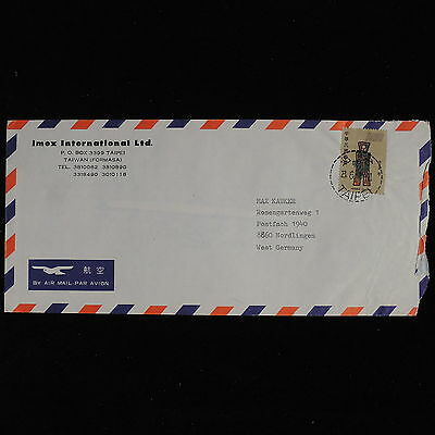 ZS-AC565 TAIWAN - Airmail, From Taipei To Nordlingen Germany Cover
