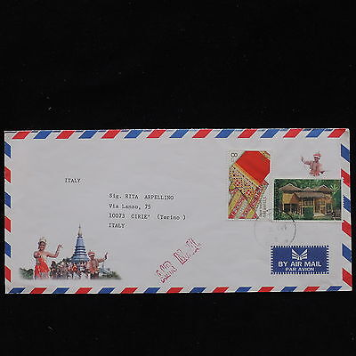 ZS-AC684 THAILAND - Folklore, Airmail To Cirie Italy Cover