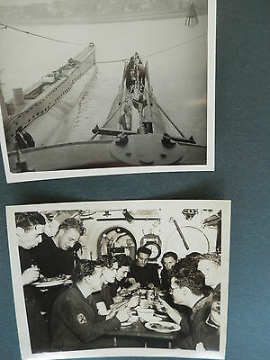 Two Submarine Ww2 Pictures