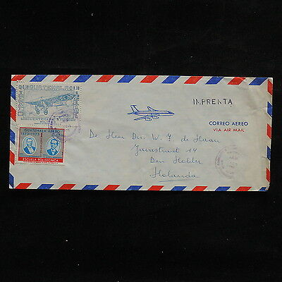 ZS-R637 AVIATION - Guatemala, 1975 Air Mail To Holland Cover