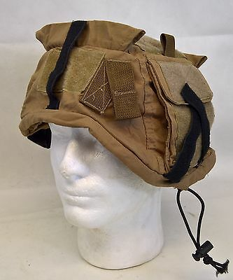 Us Army Coyote Tan Helmet Cover With Pouch