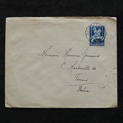 ZS-T266 NETHERLANDS - Cover, To Turin Italy