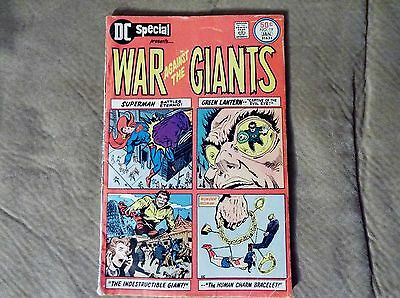 DC Special War Against the Giants #19(1976) Fair to GD
