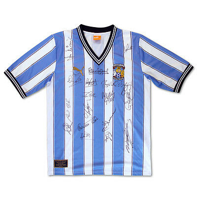 Coventry City 1987 Fa Cup-Winners Signed Limited Edition Replica Shirt