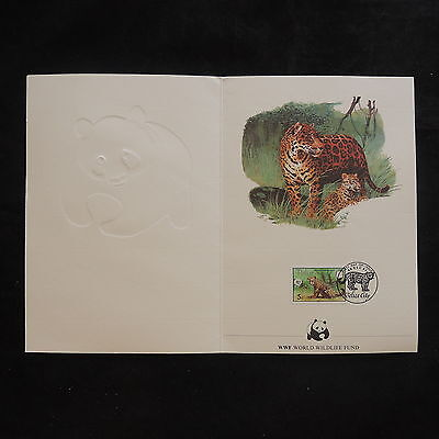 ZS-V912 WWF - Belize, 1983, Fdc, Wild Animals, Booklet, Great Franking