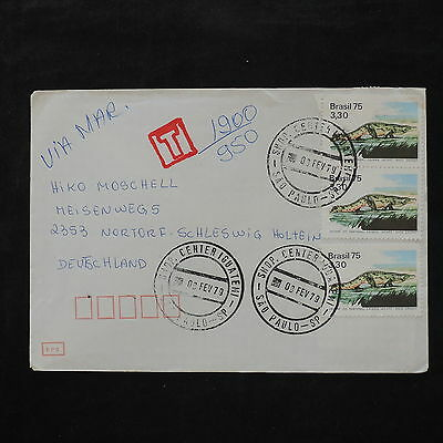 ZS-W066 WILD ANIMALS - Brazil, 1979, Great Franking, Airmail To Germany Cover